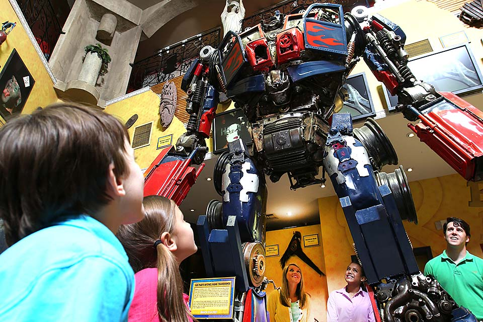 Life size transformer