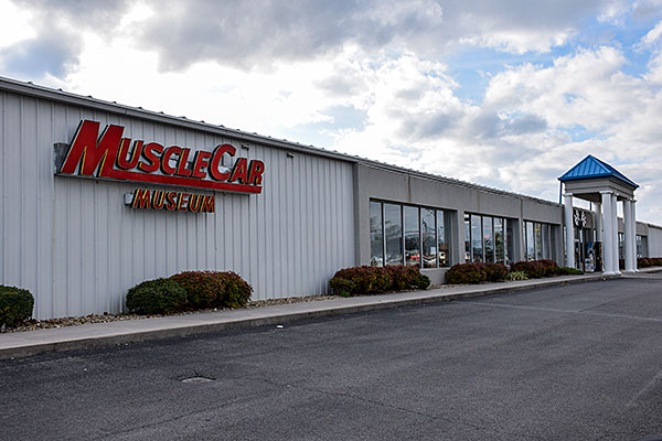 A car museum in Tennessee