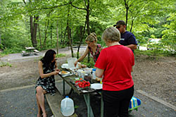 Picnic in the Smoky Mountains