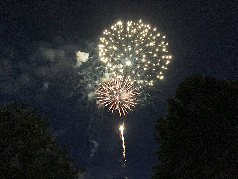 Summer fireworks at Dollywood