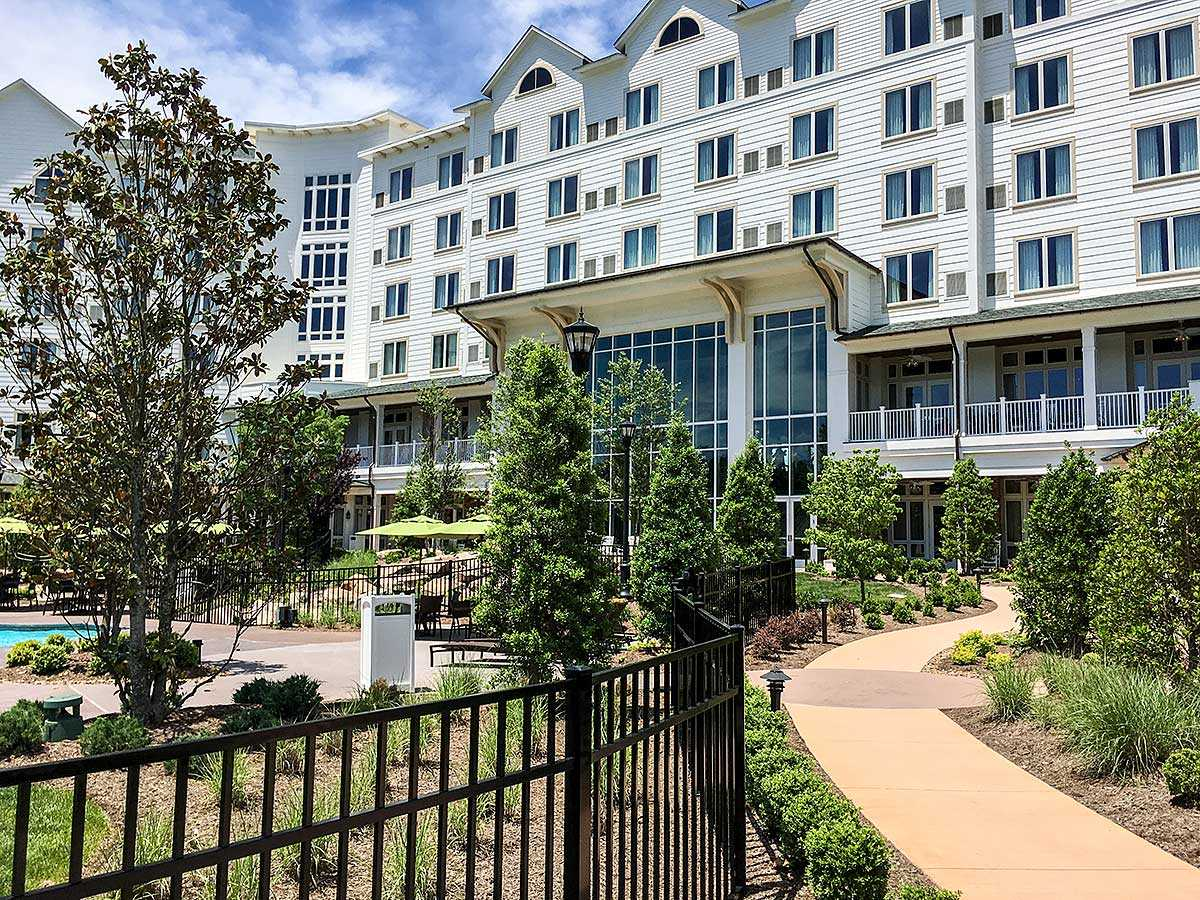 Dolly's own resort in Pigeon Forge