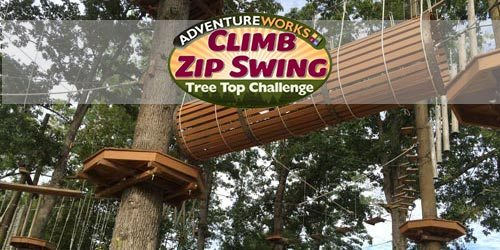 Adventureworks Climb Zip Swing