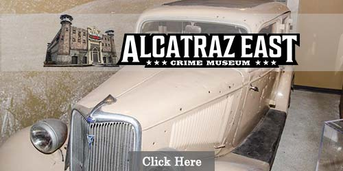 Crime museum in Pigeon Forge