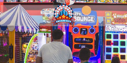 Play your favorite games in Pigeon Forge