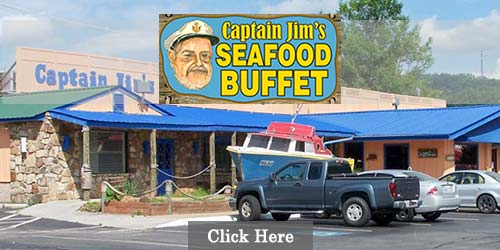 Only Seafood Buffet in Pigeon Forge