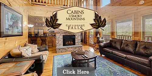 Overnight cabin rentals in Gatlinburg