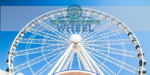 Ride the wheel in Pigeon Forge