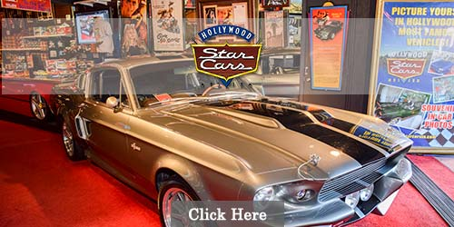 Museum of star cars in Gatlinburg