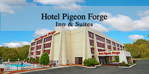 Hotel in the middle of Pigeon Forge