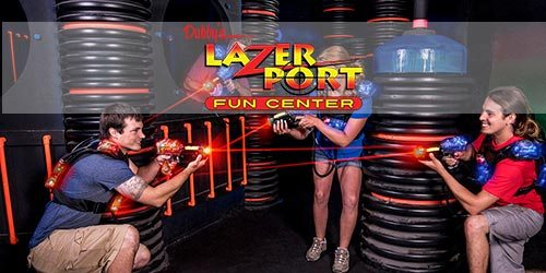 Laser Port Fun Center in Pigeon Forge