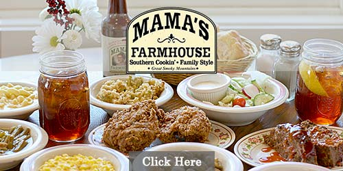 Southern food in the Smoky Mountains
