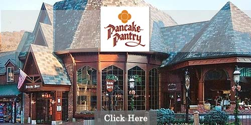 Pancakes in Gatlinburg