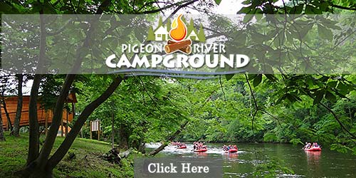 Campground in the Smokies with hiking and white water rafting