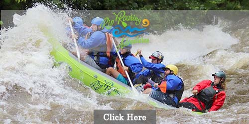 Whitewater rafting on the Pigeon river