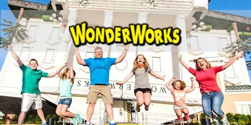 Wonder Works - Upside down in Pigeon Forge