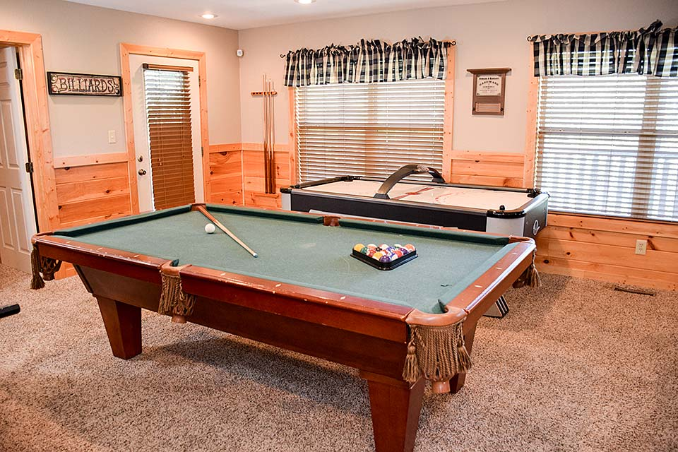 Play pool in your cabin