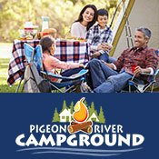 Pigeon River Campground -smoky mountain rafting