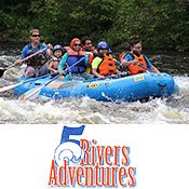 Rafting with 5 Rivers Adventures