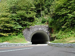 Tunnel in the National Park
