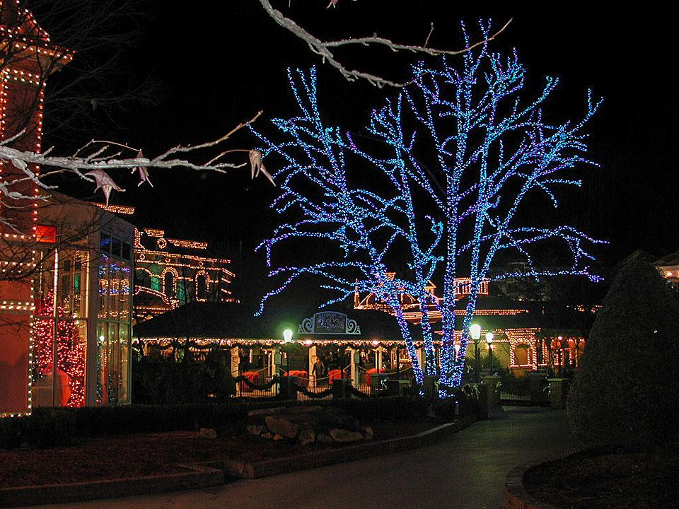 Dollywood Christmas Festival Holiday Lights