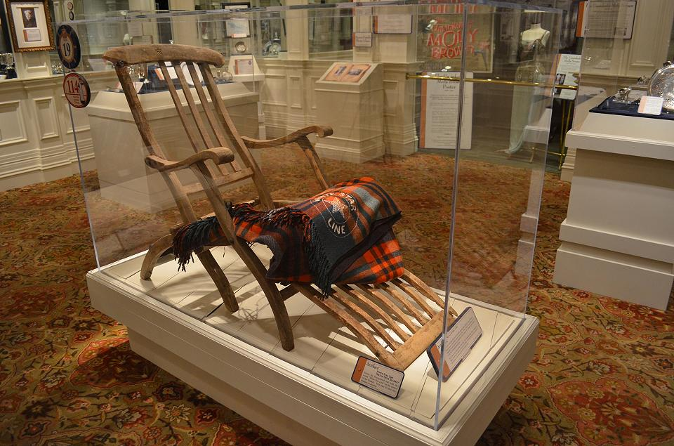 Titanic Recovered Deck Chair