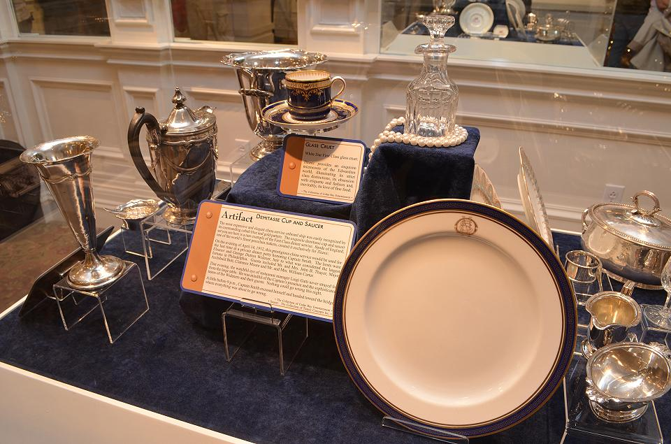 Titanic Dinnerware and Recovered Silver