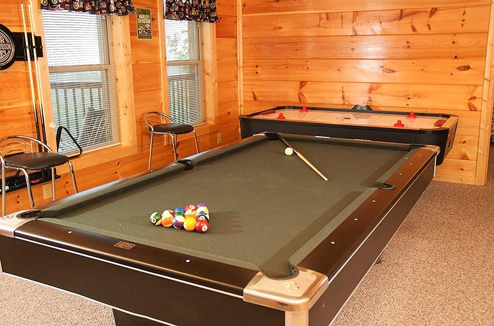 Pool anyone? Or how about air hockey with the kids?