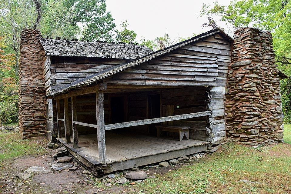Walker Sisters Cabin historic site
