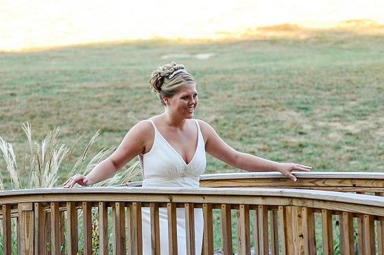 Wedding Photos with Smoky Mountains backdrop!