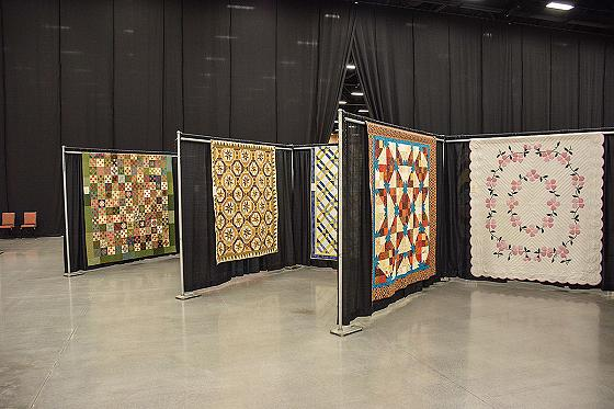A Mountain Quilt Fest award winning entries