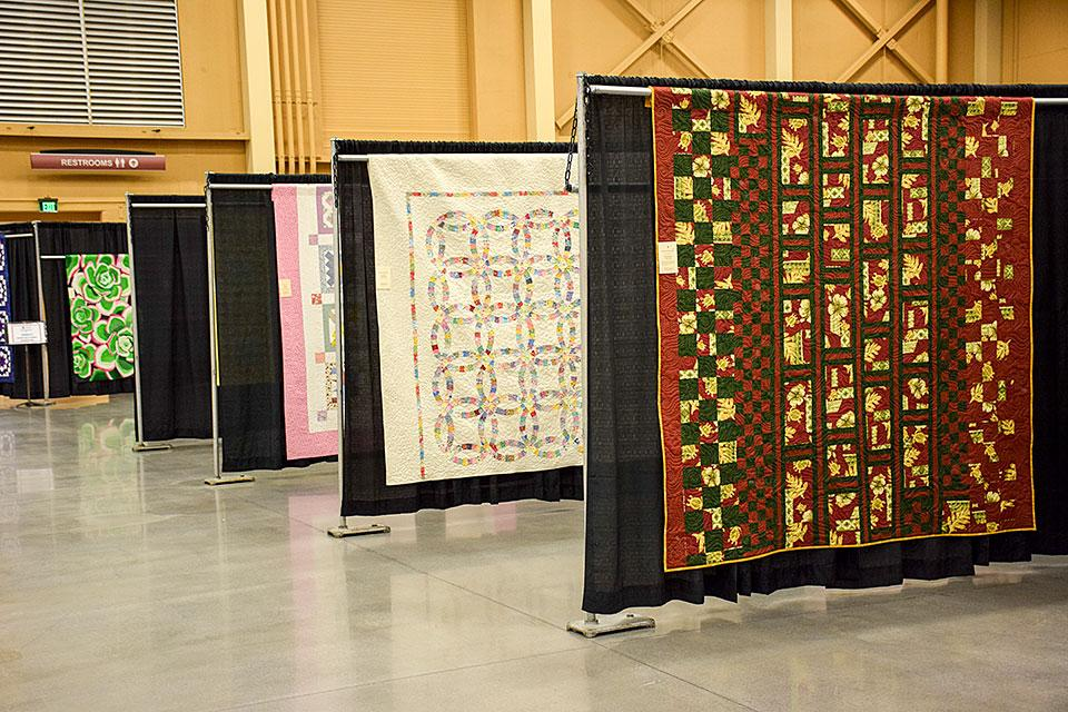 Mountain Quiltfest displays handcrafted works of art.