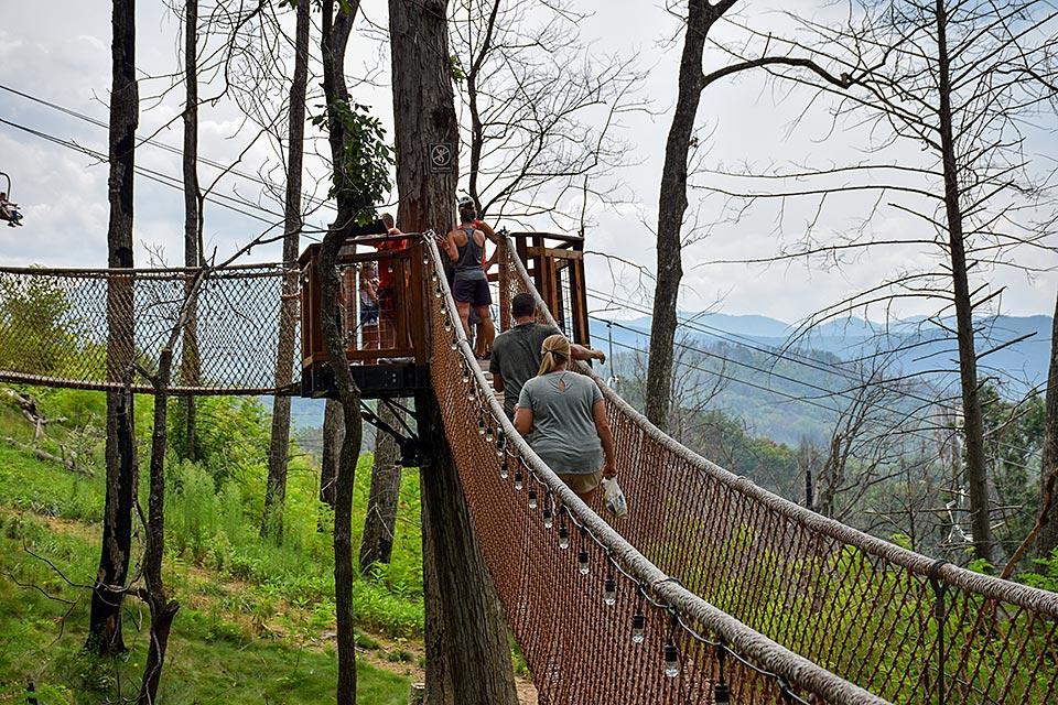 Anakeesta attraction in Gatlinburg, TN.
