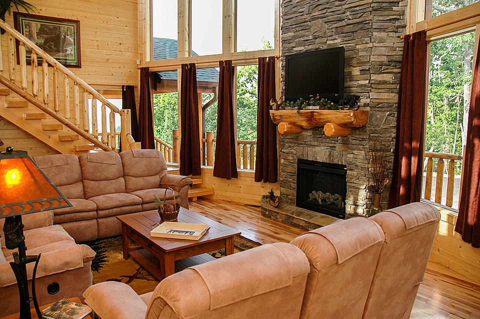 Relax at a Rental Cabin For Thanksgiving