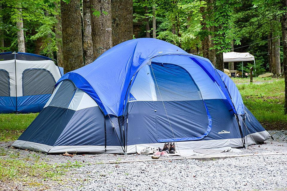 Camping in the Great Smoky Mountains National Park