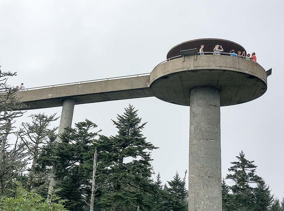 Clingmans Dome is completely free and fun for families in the National Park.