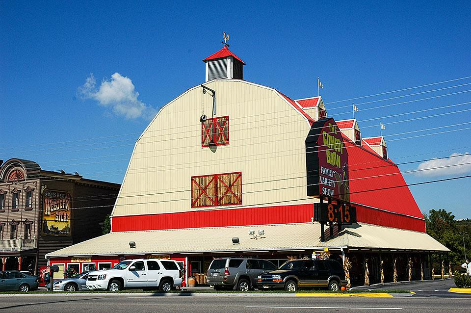 Comedy Barn Pigeon Forge Outside