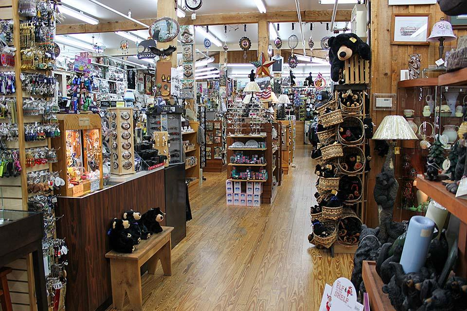 Wide selection at the Country Barn Gift Shop.