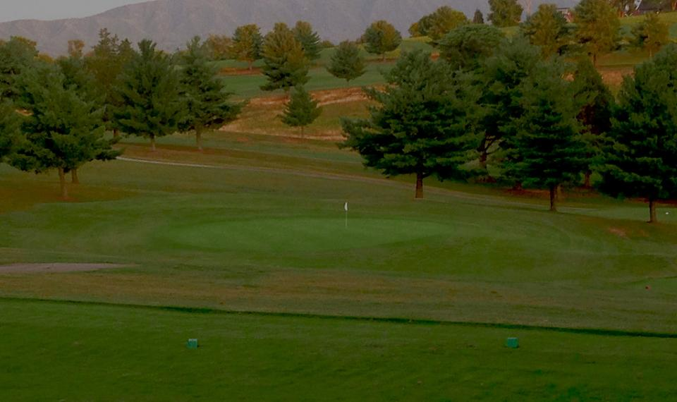 Dandridge Golf Club-scenic Mountain Views from course