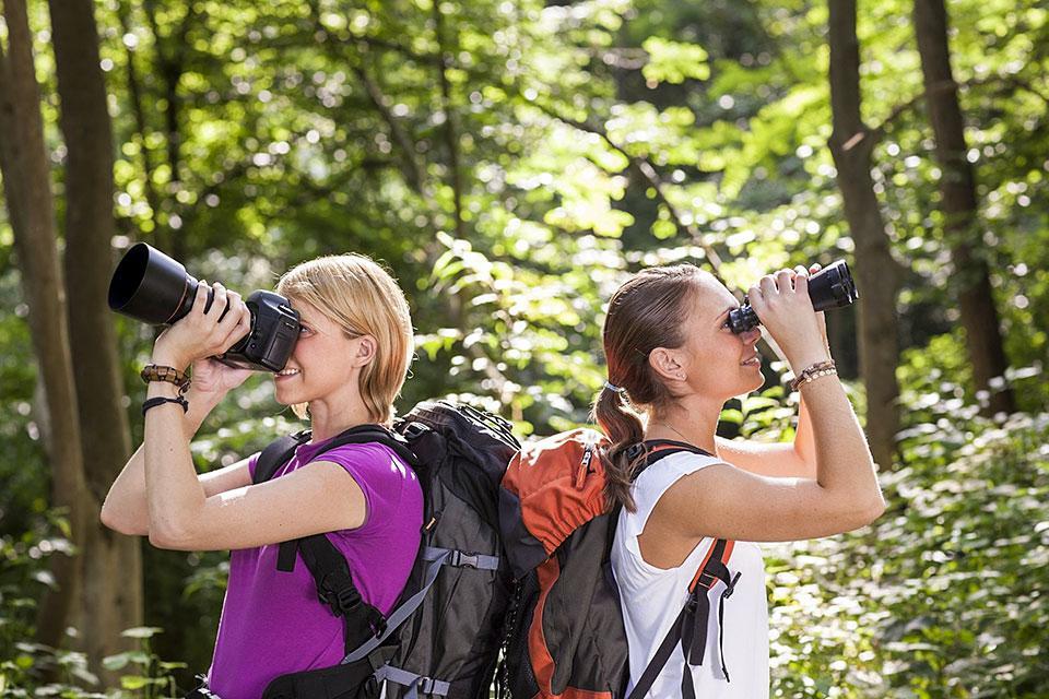 Hiking Camera Binoculars