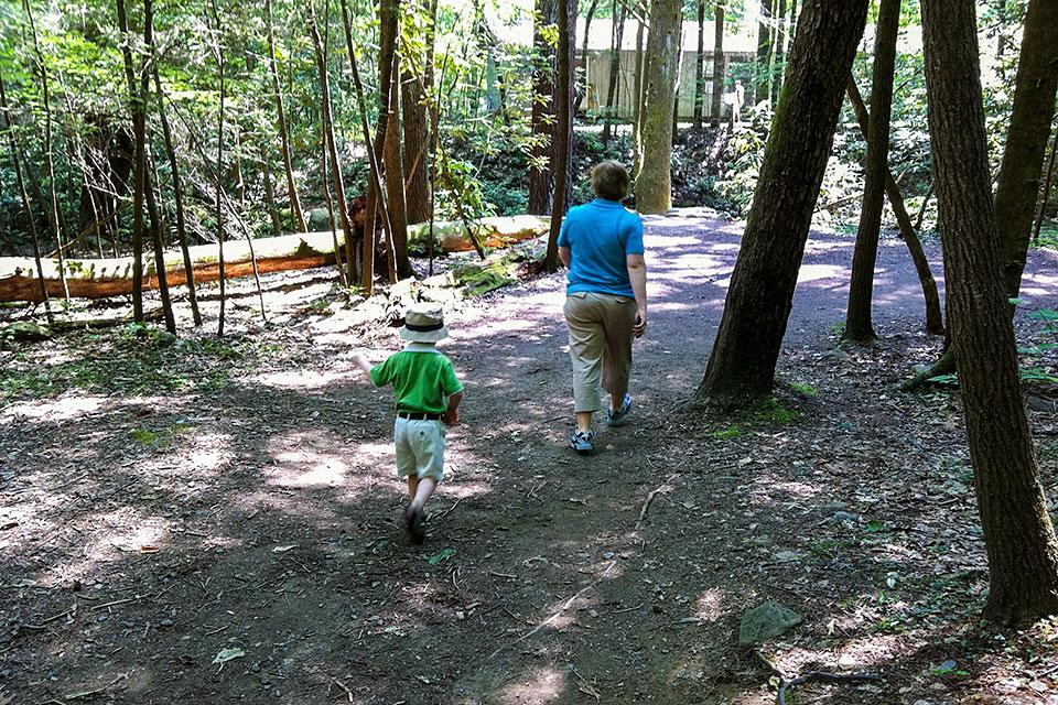 Hiking Trails for Toddlers and Children