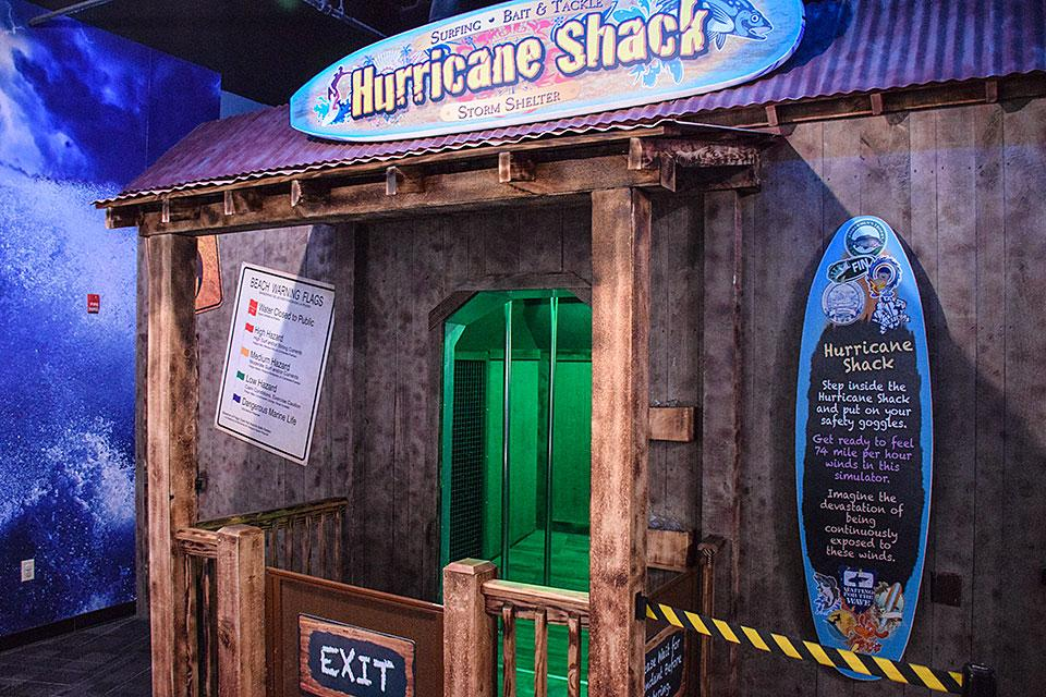 Hurricane Shack Wonderworks Pigeon Forge