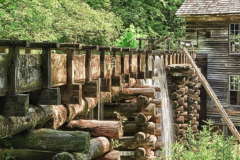 Mingus Mill Great Smoky Mountains