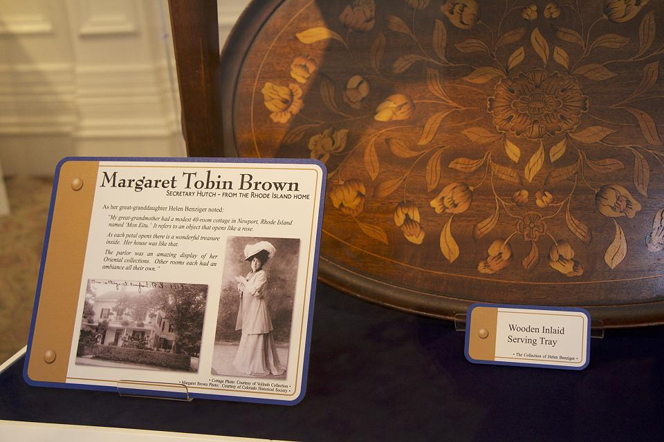 Molly Brown exhibit information