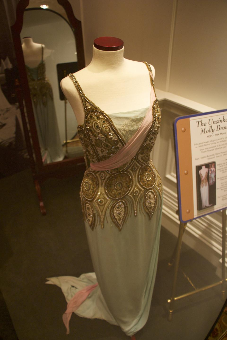 Molly Brown movie evening dress