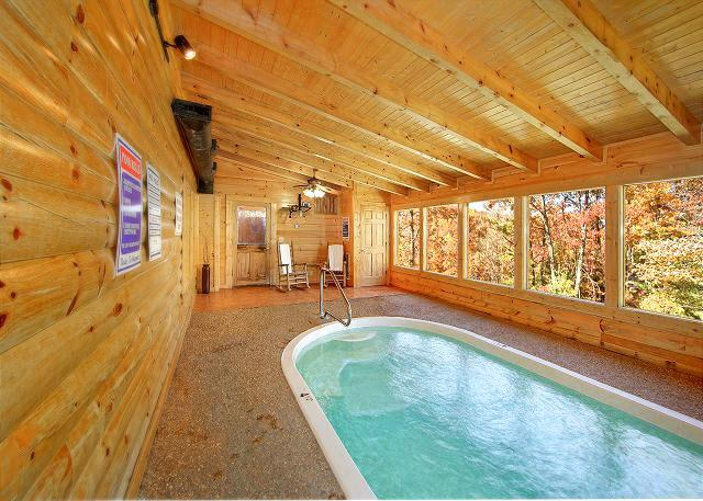 Mountain Cabin Pool