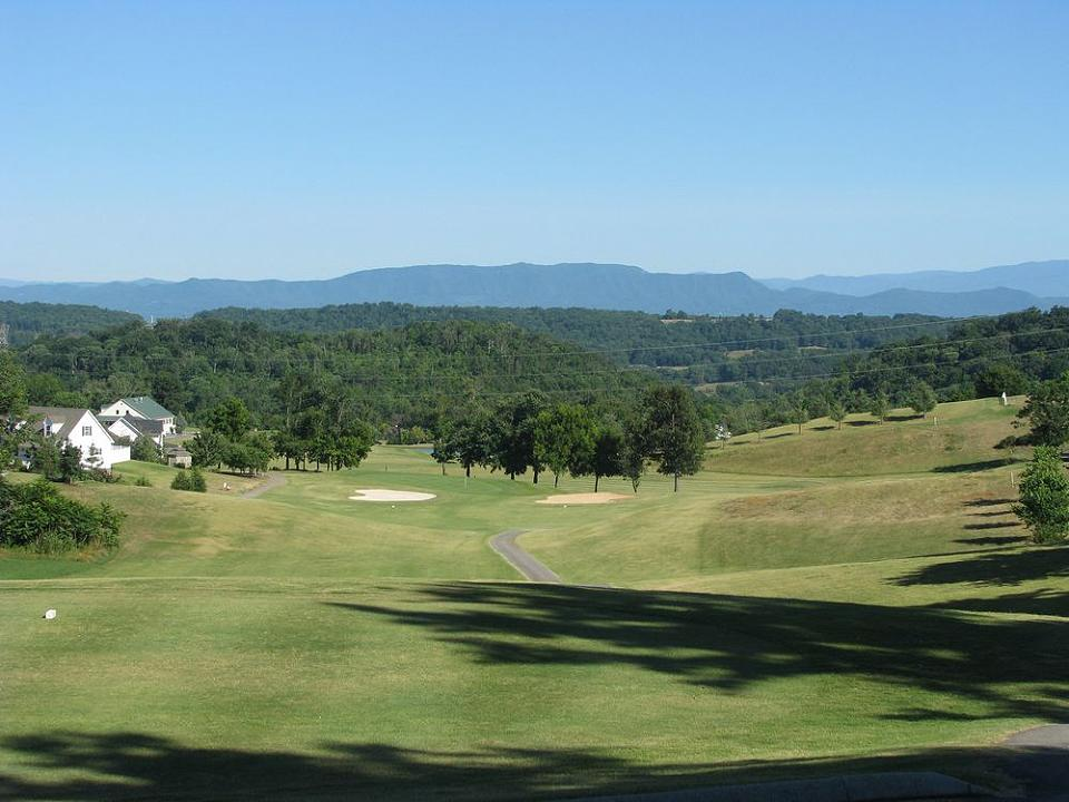 Patriot Hills Golf Club scenic vista