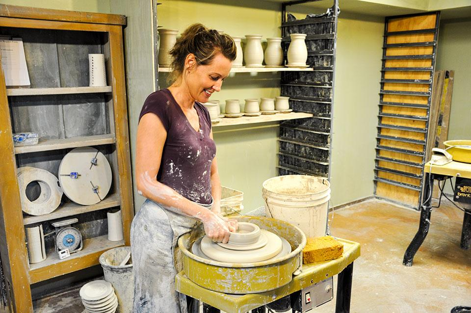 Pigeon River Pottery studio and store