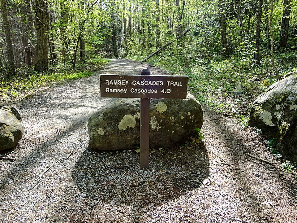 Ramsey Cascades Trail is a hidden gem