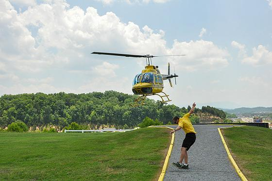 Scenic Helicopter Tours landing pad