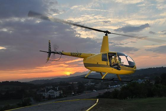 Romantic Sunset Helicopter Tours